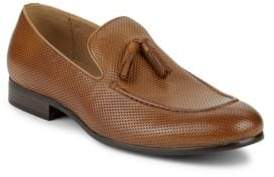 Saks Fifth Avenue Lawson Perforated Tassel Loafers