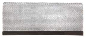 Nina Hartford Faux Pearl and Crystal Satin Clutch