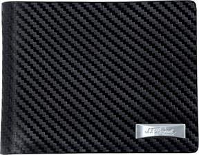 S.T.Dupont Défi carbon leather billfold wallet