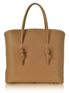 Coccinelle Women's Brown Leather Tote.