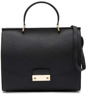 Furla Julia M Top Handle Leather Satchel