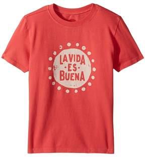 Life is Good La Vida Es Buena Crusher Tee Boy's T Shirt