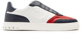 Valentino Lace Crew leather low-top trainers