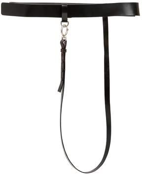 Maison Margiela 35mm High Waist Leather Belt W/ Strap