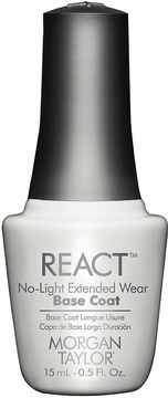 MORGAN TAYLOR Morgan Taylor React No-Light Extended Wear Base Coat