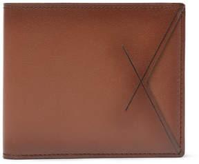Ermenegildo Zegna Burnished-Leather Billfold Wallet