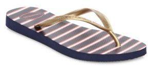 Havaianas Slim Americana Thong Flip Flops