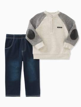 Calvin Klein boys 2-piece denim set