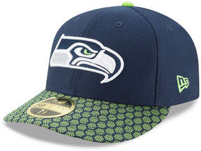 New Era Seattle Seahawks Sideline Low Profile 59FIFTY Fitted Cap