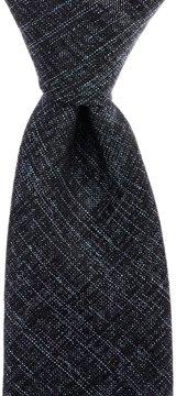 Murano Sandy Solid Narrow Silk Tie