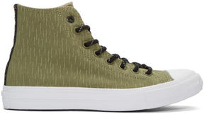Converse Green Reflective Chuck Taylor All Star II High-Top Sneakers