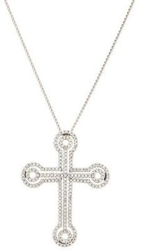 Chimento 18K Diamond Cross Pendant Necklace