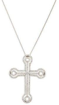 Chimento 18K Diamond Cross Pendant Necklace