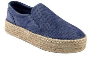 Tretorn Emilia3 Perforated Leather Espadrilles