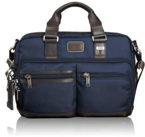 Tumi Alpha Bravo Andersen Slim Commuter Brief Case