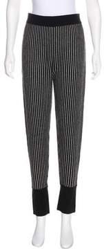 Raquel Allegra Striped Wool Pants
