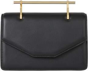 M2Malletier Indre Leather Shoulder Bag