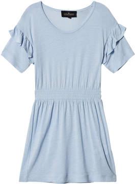 Little Remix Blue Ruffle Dress