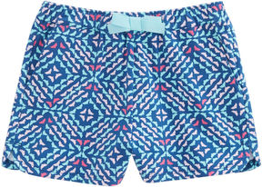 Vineyard Vines Girls Whale Tail Square Pull On Short