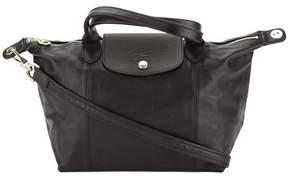 Longchamp Black Metis Leather Le Pliage Cuir S Top Handle Bag - ONE COLOR - STYLE