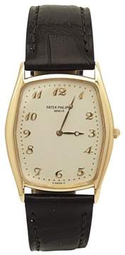 Patek Philippe Gondolo 3842R 18K Rose Gold & Alligator Strap Manual 29mm Mens Watch