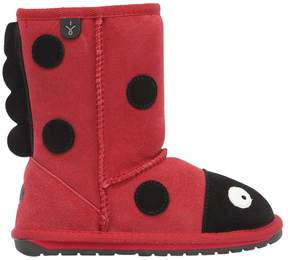 Emu Ladybird Suede & Merino Wool Boots