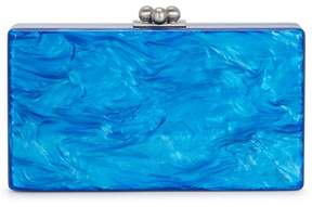 Edie Parker Jean Solid Pearlescent Box Clutch