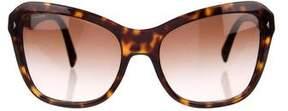 Prada Tortoiseshell Square Sunglasses