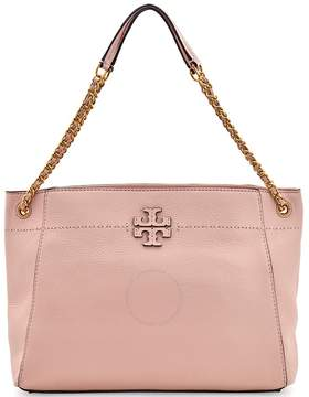 Tory Burch McGraw Slouchy Leather Tote - Pink Quartz - ONE COLOR - STYLE