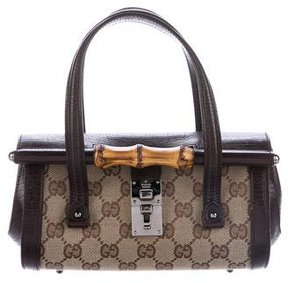 Gucci Mini Bamboo Bullet Bag - BROWN - STYLE