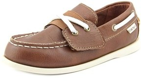 Carter's Joshua3 Youth Round Toe Synthetic Brown Loafer.