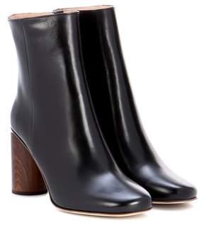 Acne Studios Allis leather ankle boots