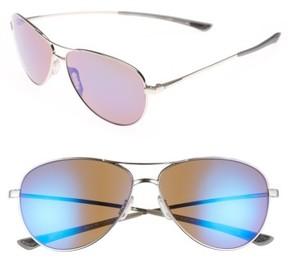 Smith Women's 'Langley' 60Mm Aviator Sunglasses - Gold