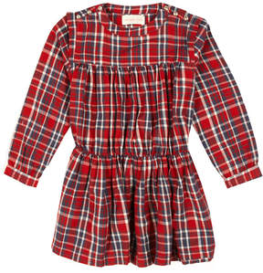 Simple Gmc Checked Dress