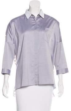 Aquilano Rimondi Aquilano.Rimondi Embroidered Button-Up Top