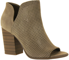 Soda Sunglasses Light Taupe Oak Open-Toe Bootie