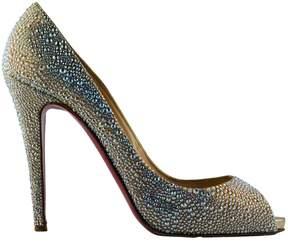 Christian Louboutin Very Privé glitter heels