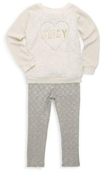 Juicy Couture Little Girl's Faux Fur Pullover