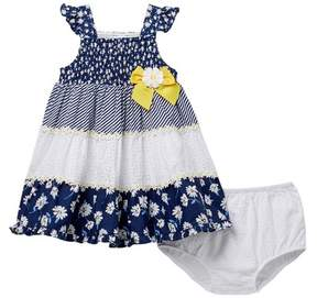 Little Me Daisy Sundress Set (Baby Girls)