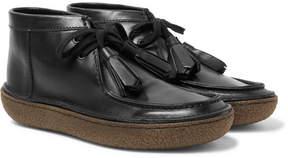 Prada Leather Tasselled Boots