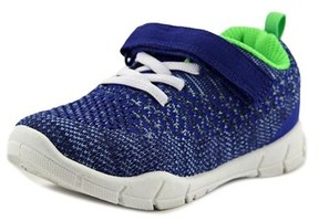 Carter's Swipeb Youth Round Toe Canvas Blue Sneakers.
