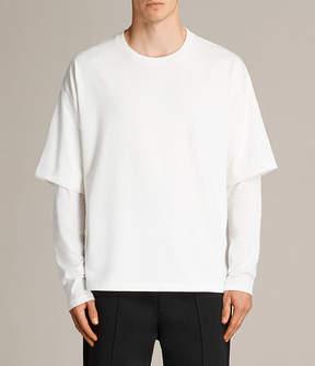 AllSaints Spindle Crew T-Shirt