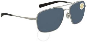 Costa del Mar Grey Square Sunglasses CAN 21 OGP