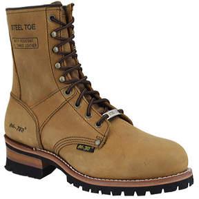 AdTec Men's 1740 9 Steel Toe Logger Boot