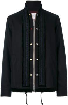 Sacai braided military jacket