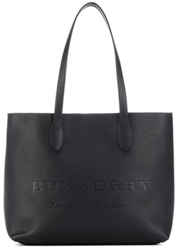 Burberry Remington leather tote - BLACK - STYLE