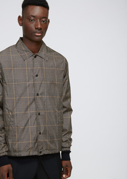 Cmmn Swdn Prince of Wales Check Igor Coach Jacket