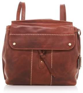 Børn Bronco Leather Backpack