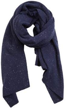 Mango Outlet Flecked knit scarf