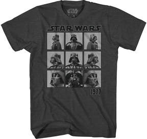 Star Wars Novelty T-Shirts Vader Turnaround Graphic Tee